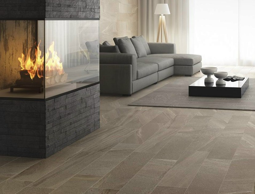 Porcelain stoneware wall/floor tiles with stone effect LAKE STONE by Supergres