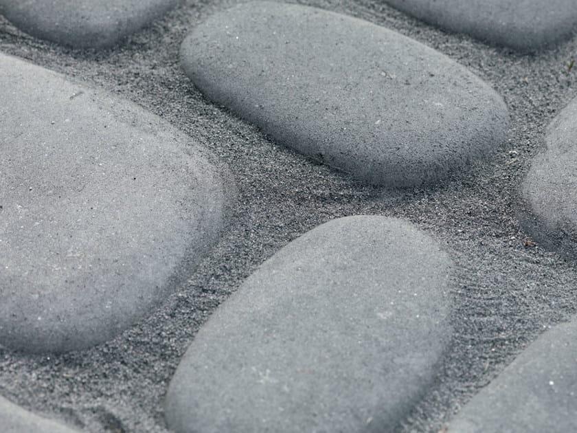 Concrete paving block GRANSASSO® by Tegolaia