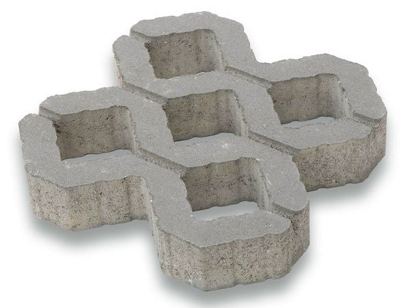 Concrete Grass mesh PRATOVERDE by Tegolaia