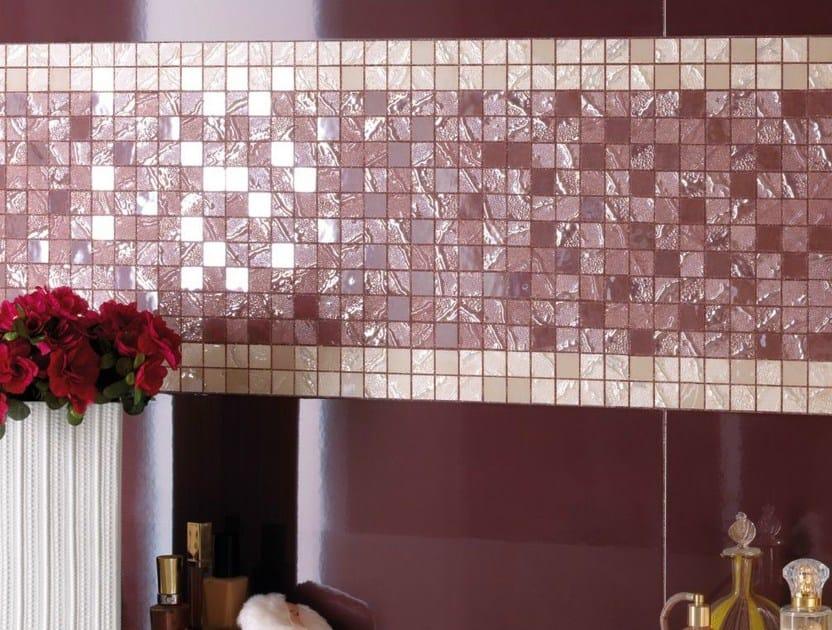 Porcelain stoneware mosaic FOUR SEASONS by Supergres