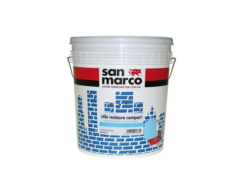 Plastic paint STILE RESTAURO COMPACT by San Marco