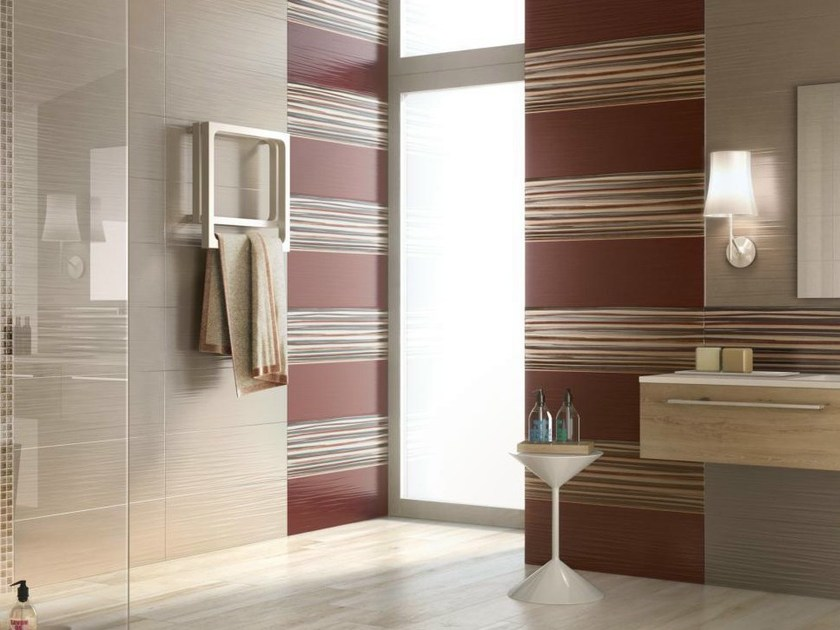 Ceramic wall tiles LACE by Supergres