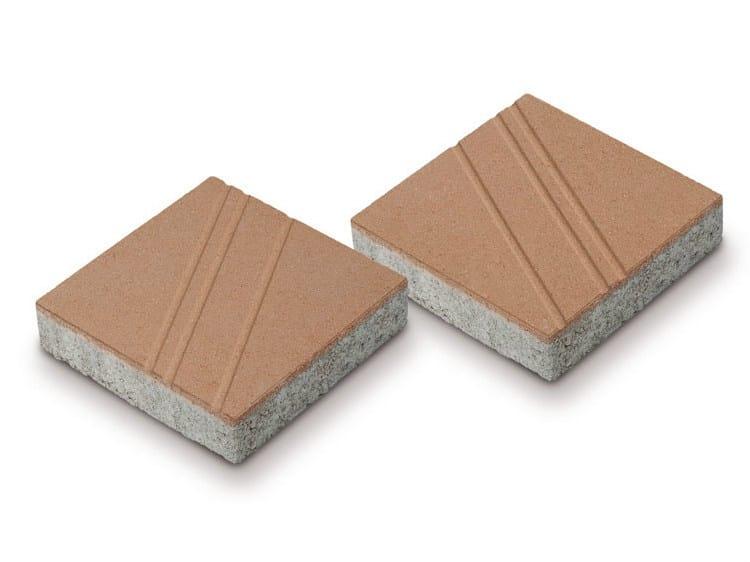 Concrete paving block SIRIO® by Tegolaia