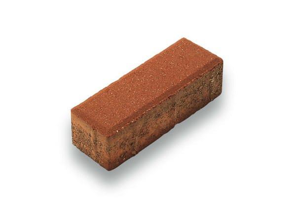 Concrete paving block URBIS by Tegolaia