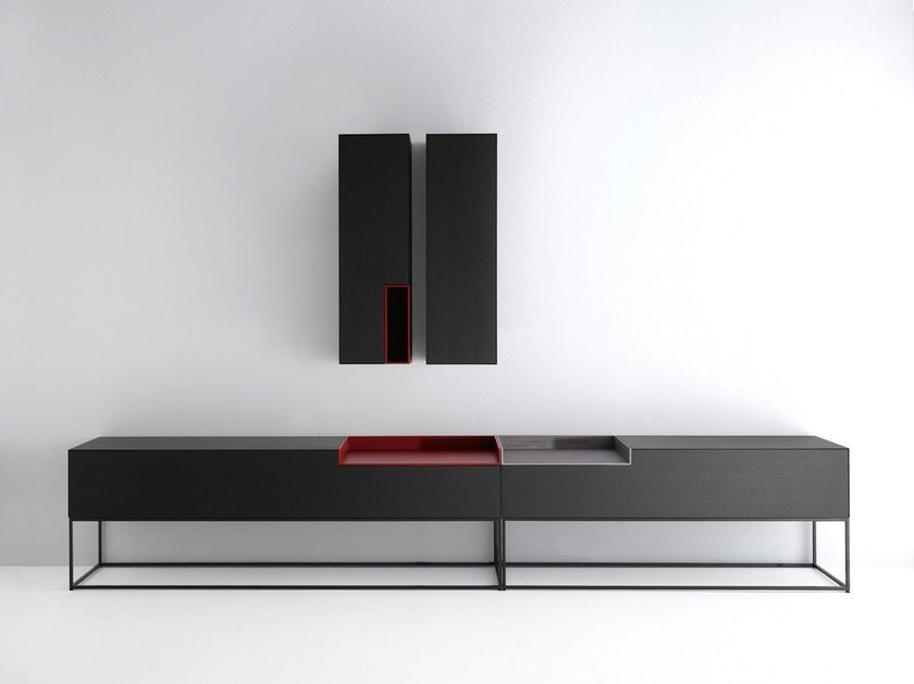 Inmotion buffet by mdf italia design eva paster michael for Mobili mdf