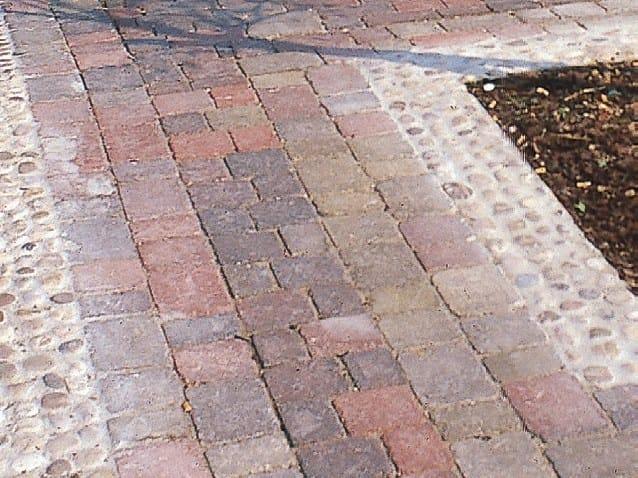 Concrete paving block GEMMA DEL PIAVE by Tegolaia