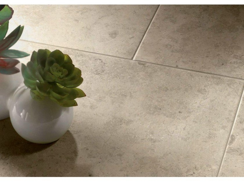 Ecological porcelain stoneware flooring with stone effect EVER&STONE by Supergres