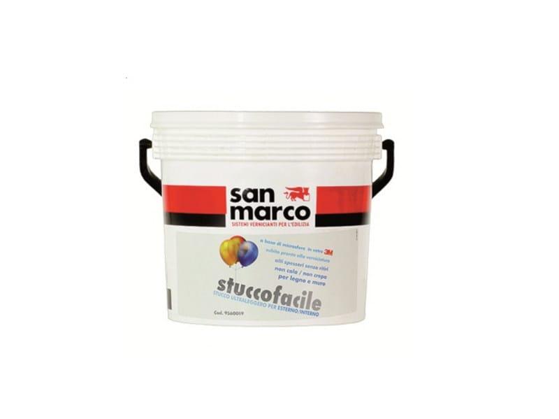 Gypsum and decorative plaster STUCCOFACILE by San Marco