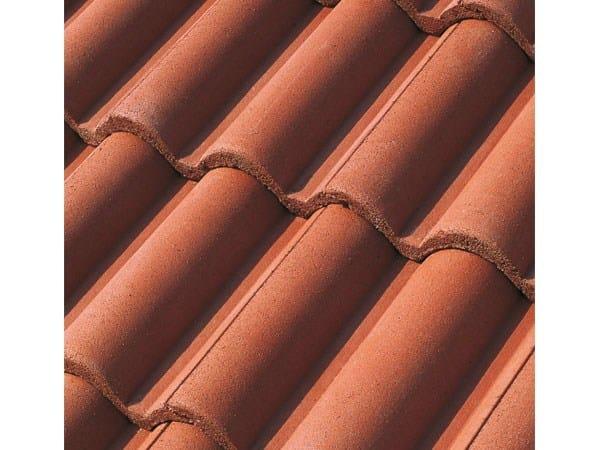 Cement roof tile SUPERCOPPO® IMPASTO VERNICIATO by Tegolaia