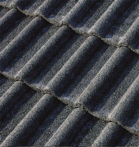 Cement roof tile DOLOMITEN2 QUARZATA by Tegolaia