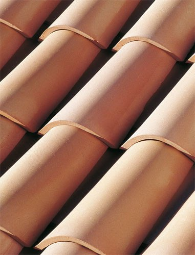 Clay bent roof tile COPPO GALLURA by Tegolaia