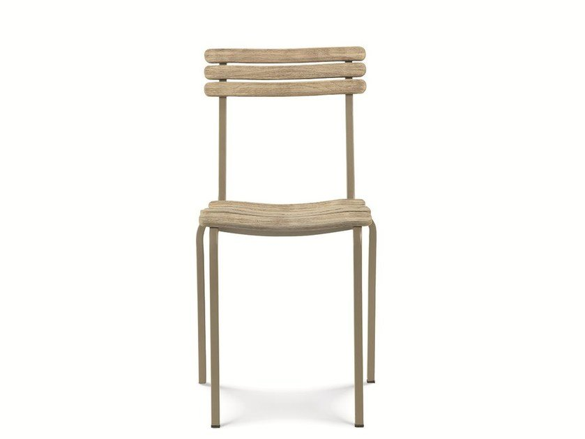 Stackable teak garden chair LAREN | Stackable chair by Ethimo