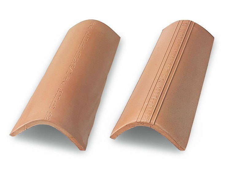 Clay bent roof tile COPPO 45 CLASSICO by Tegolaia