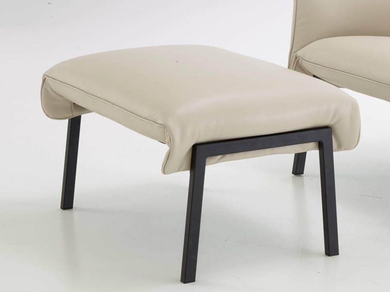 Fabric footstool BEAU FIXE | Footstool by Ligne Roset