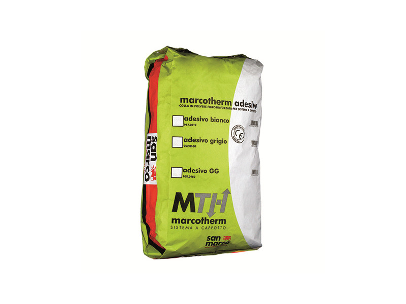 Cement-based glue MARCOTHERM ADESIVO by San Marco