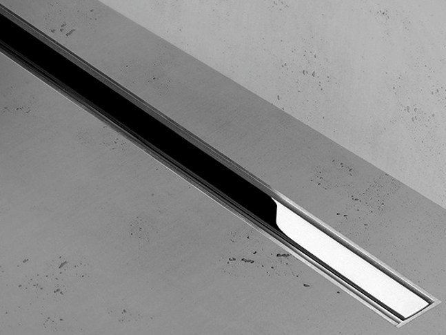 Shower channel XS Z-1 ZERO + CHROME-PLATED STAINLESS by ESS Easy Drain