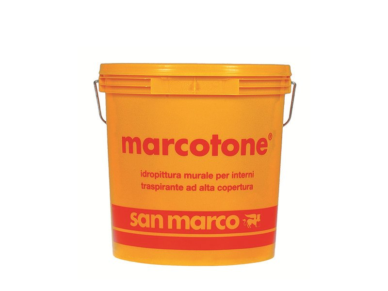 Breathable water-based paint MARCOTONE by San Marco