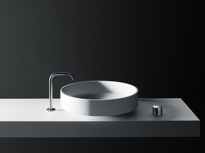 Countertop Cristalplant® washbasin LOTUS   Countertop washbasin by Boffi