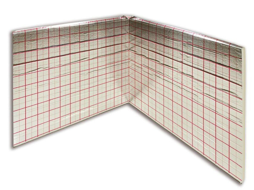 Thermal insulation panel HENCO FLOOR BOOK PU by Henco by Cappellotto