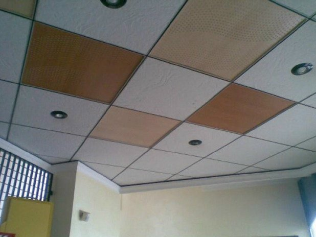 Plasterboard Radiant ceiling/wall panel SQUARE by Henco by Cappellotto