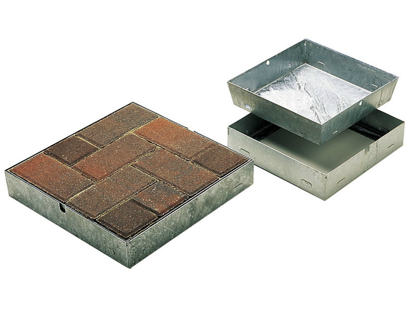 Manhole cover and grille for plumbing and drainage system Manhole cover and grille for plumbing and drainage system by Tegolaia