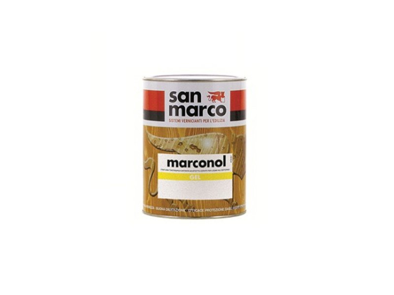 Wood treatment MARCONOL GEL by San Marco