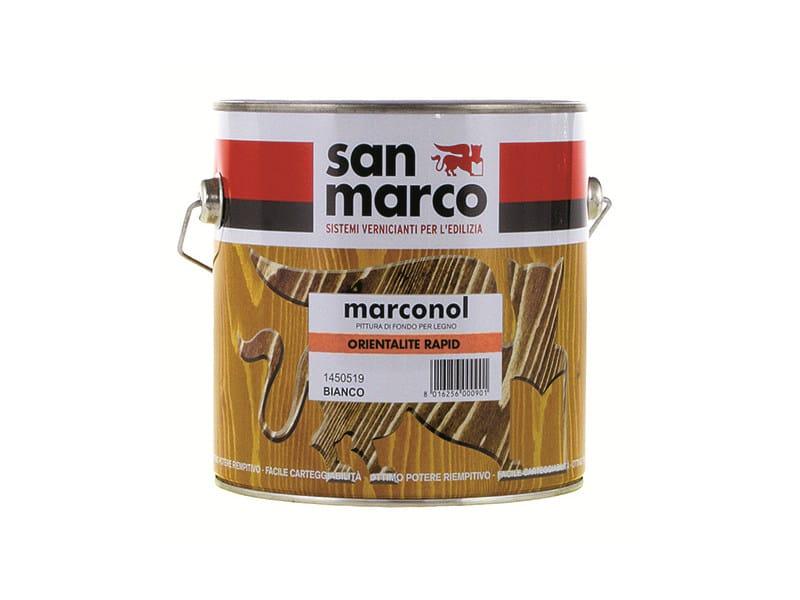 Wood treatment MARCONOL ORIENTALITE RAPID by San Marco
