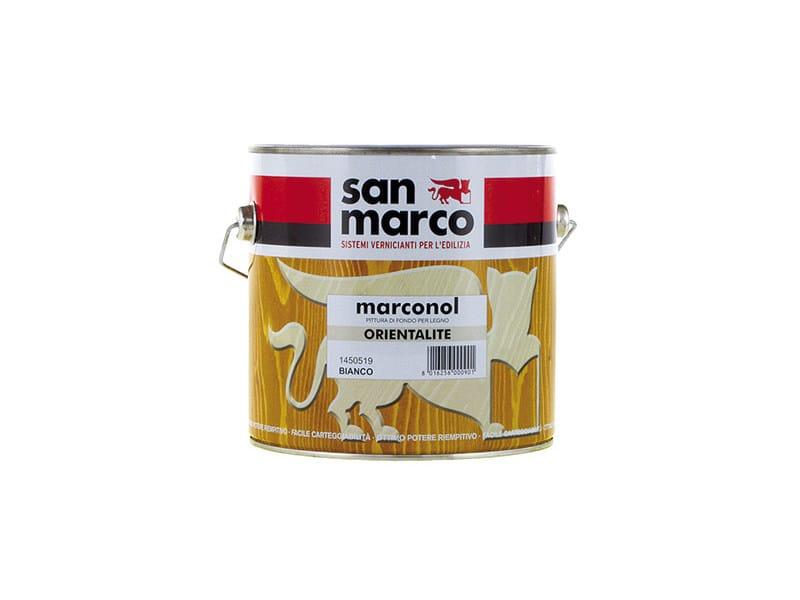 Wood treatment MARCONOL ORIENTALITE by San Marco