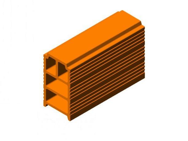 Hollow clay floor slab block Hollow clay floor slab block by FORNACI SCANU