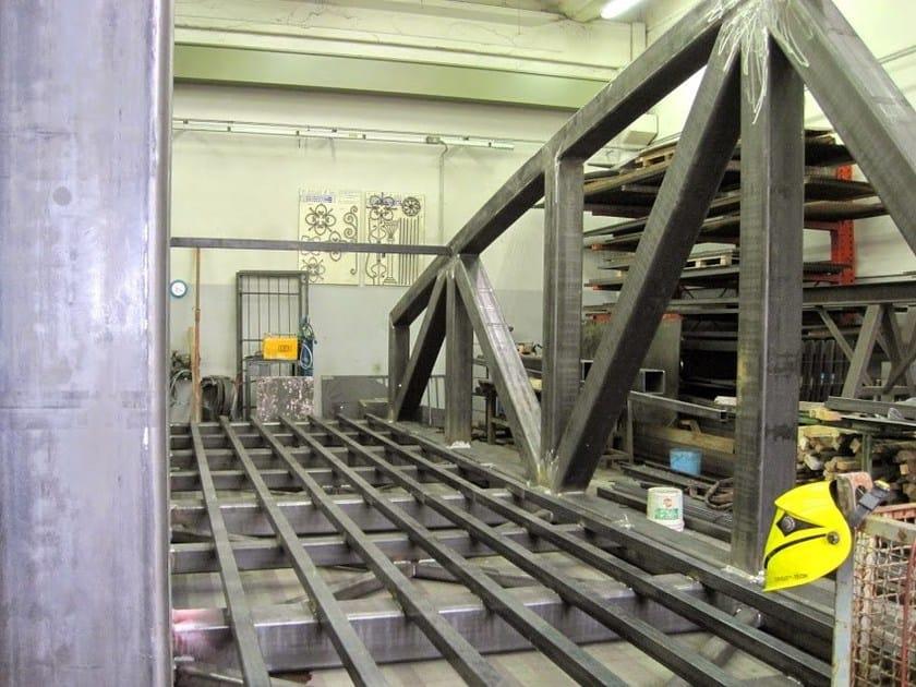 Fachwerkkonstruktion aus metall by cmm for Fachwerkkonstruktion stahl