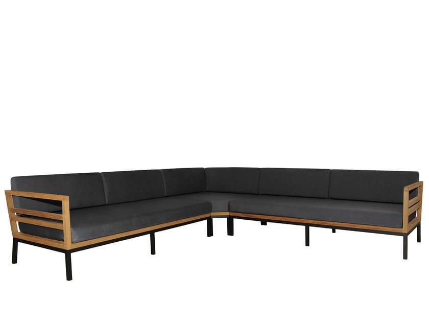 Corner Sunbrella® sofa ZUDU Oversized Corner Sofa by MAMAGREEN