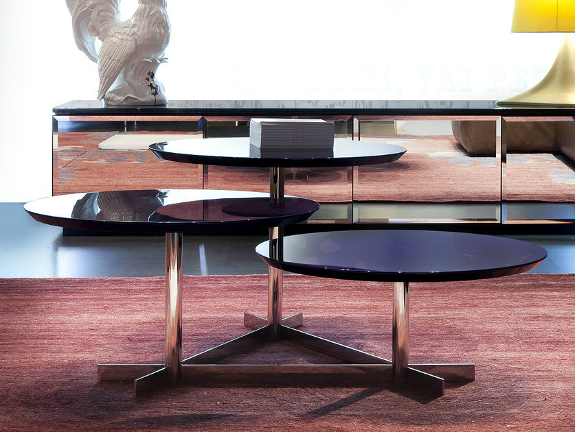 Low round coffee table HOT by ERBA ITALIA