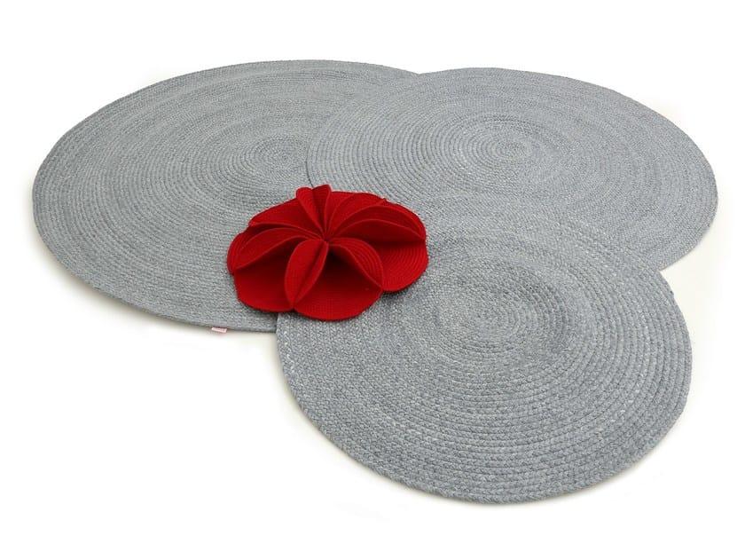 Technical fabric rug EUCHARIS | Rug by Darono