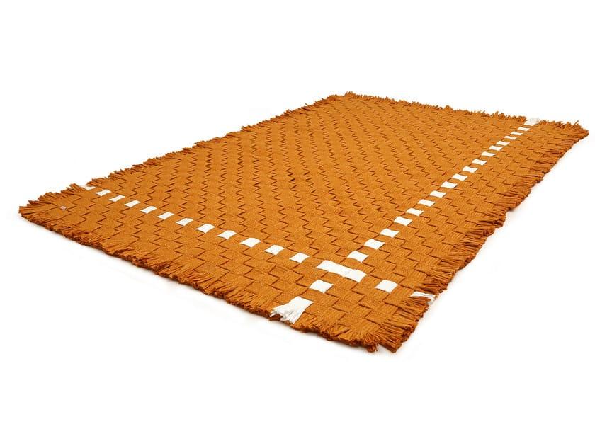 Rectangular technical fabric rug GUARANI | Rectangular rug by Darono