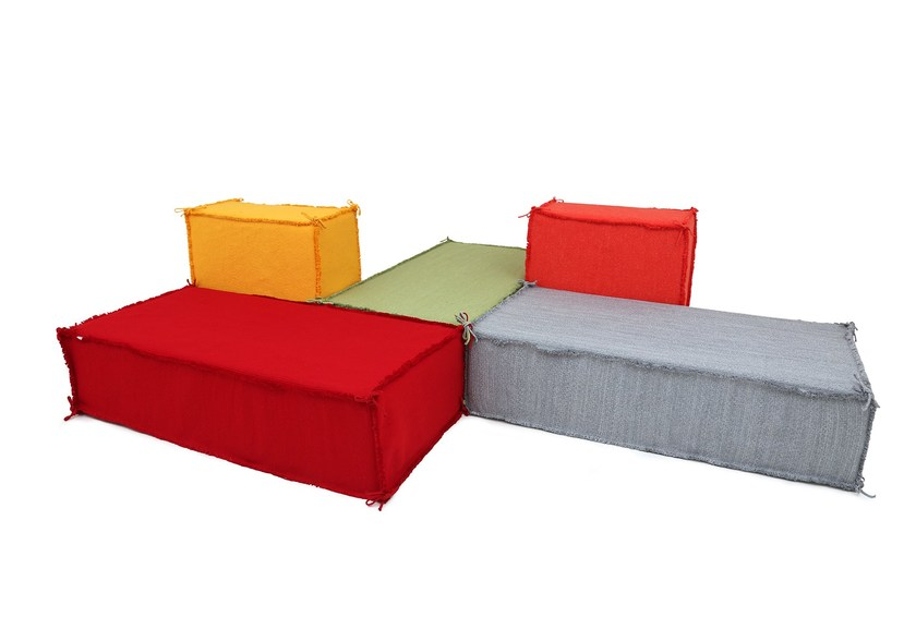 Modular Technical Fabric Sofa ISLAND | Modular Sofa By Darono