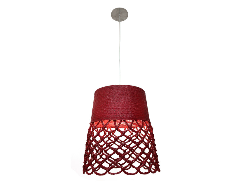 Technical fabric pendant lamp SCALES | Pendant lamp by Darono