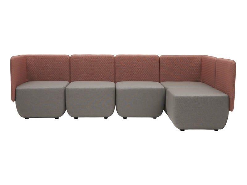 Corner sectional modular sofa OPERA   Corner sofa by SOFTLINE