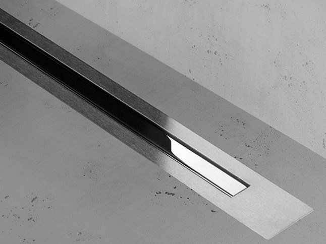 Shower channel XS Z-4 ZERO + CHROME-PLATED STAINLESS by ESS Easy Drain
