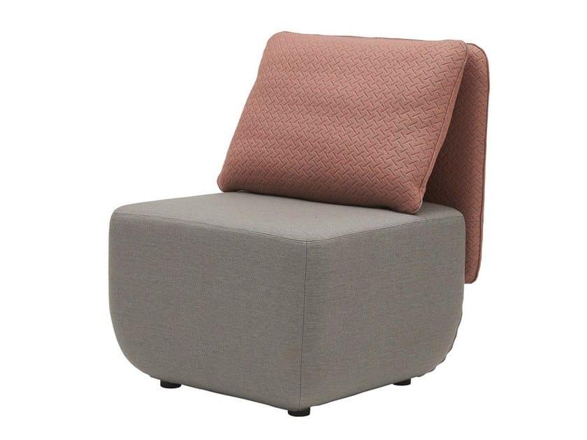 Upholstered modular easy chair OPERA | Modular easy chair by SOFTLINE