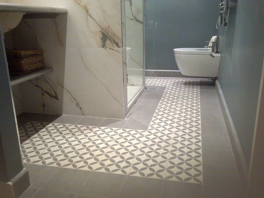 Cement wall tiles / flooring GEO_UN_05 by enticdesigns