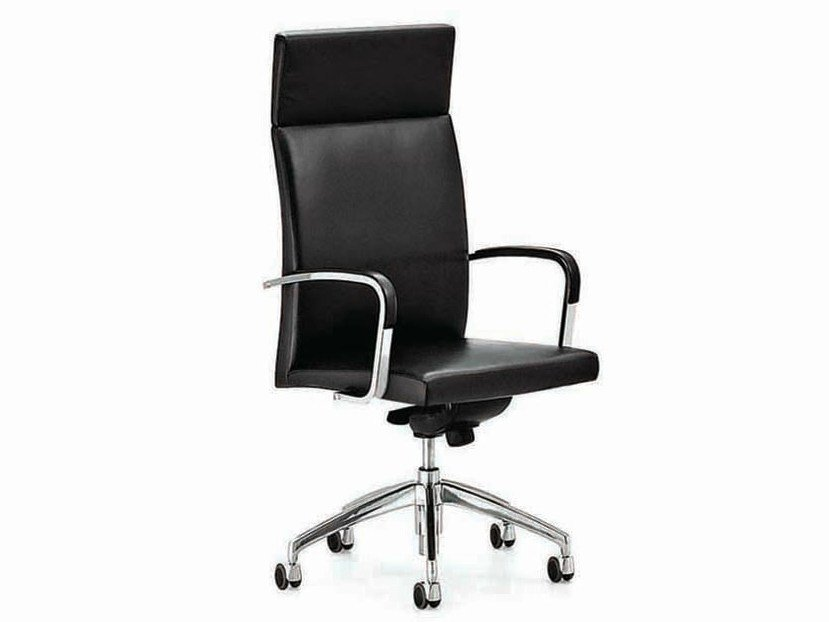 Executive chair with casters .TANO | Executive chair by Spiegels