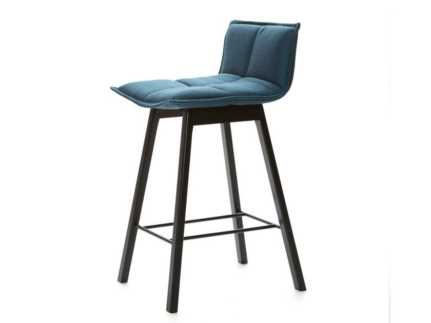 Barstool with footrest LAB BAR | Stool by Inno