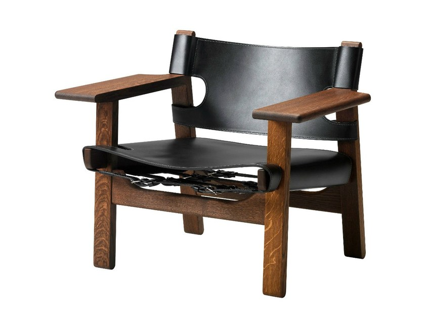 Easy chair with armrests SPANISH CHAIR by FREDERICIA FURNITURE