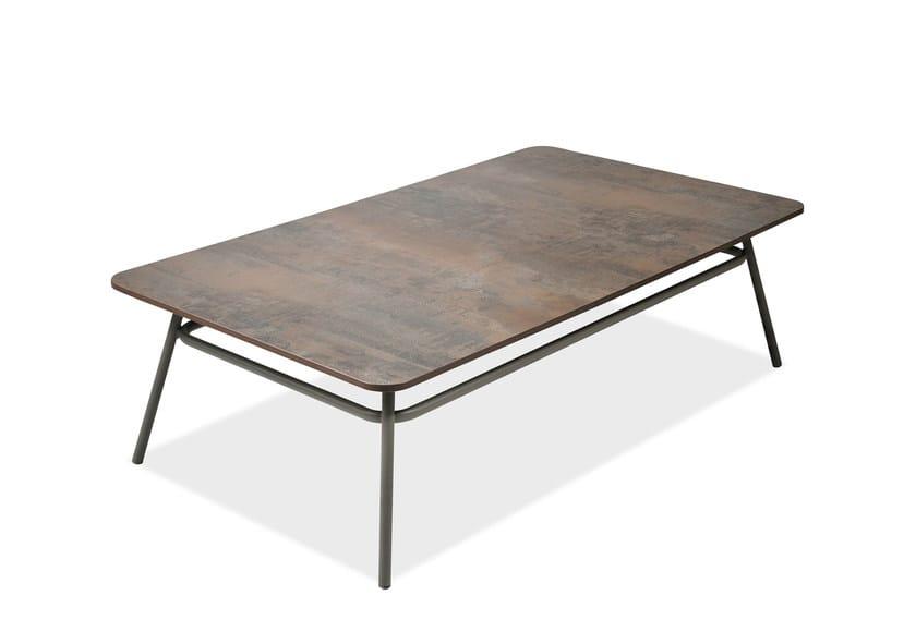 Rectangular garden side table PORTOFINO | Rectangular coffee table by Roberti