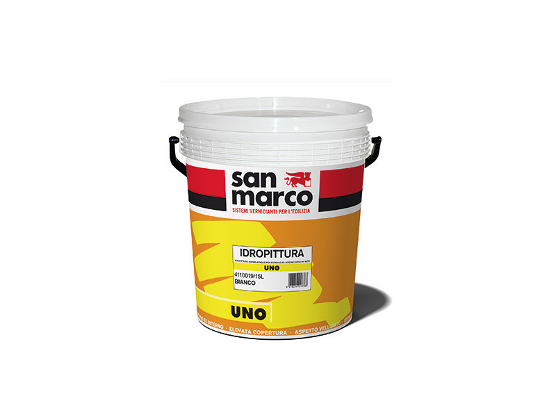 Washable water-based paint UNO by San Marco