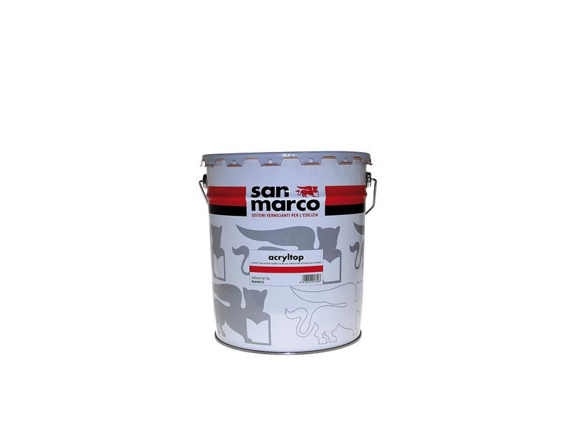 Washable water-based paint ACRYLTOP by San Marco