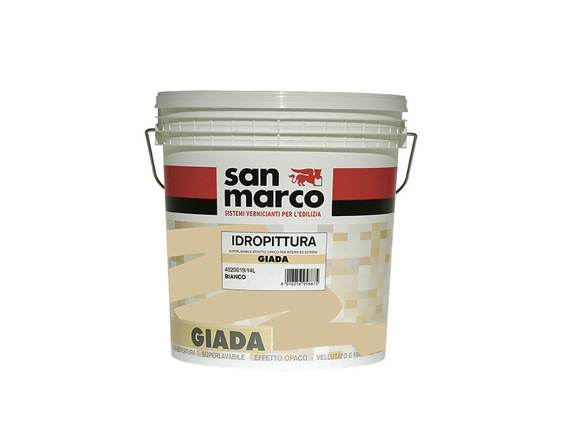Washable water-based paint GIADA by San Marco
