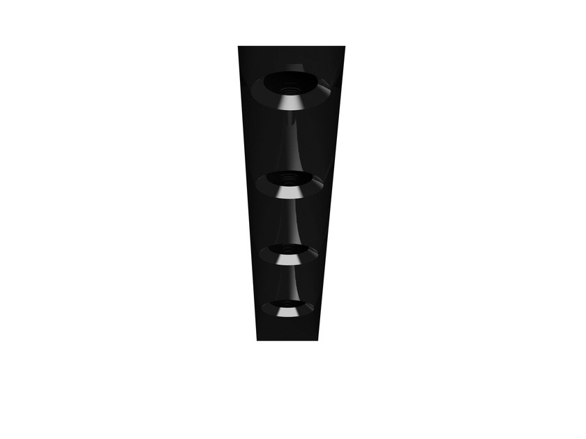 Linear lighting profile for downlights BLACK LINE by FLOS