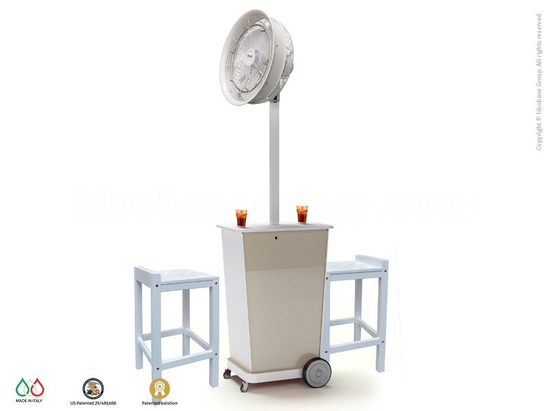 Floor standing misting fan ATMOSFERA 90 by Enjoy your Life