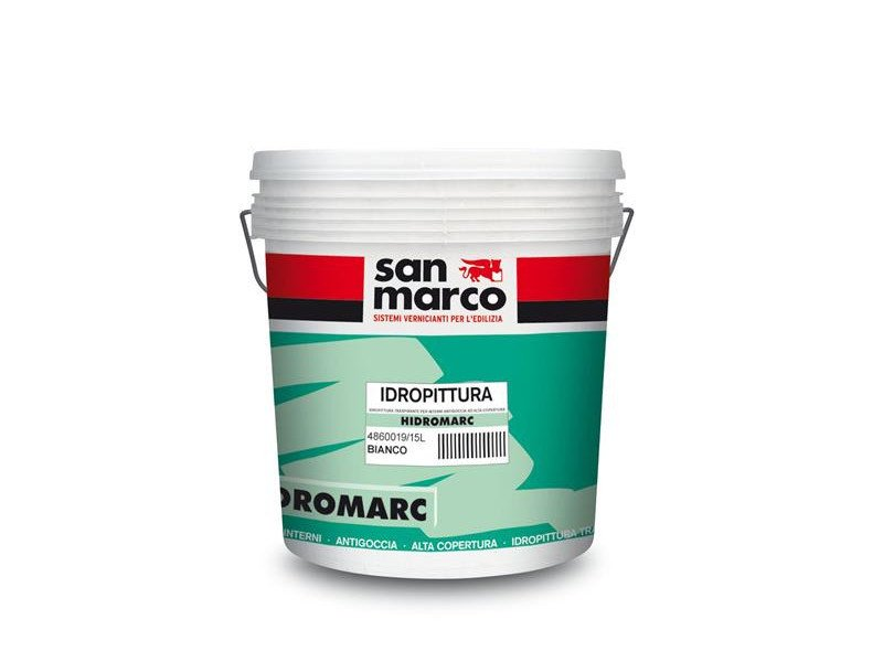 Breathable water-based paint HIDROMARC by San Marco